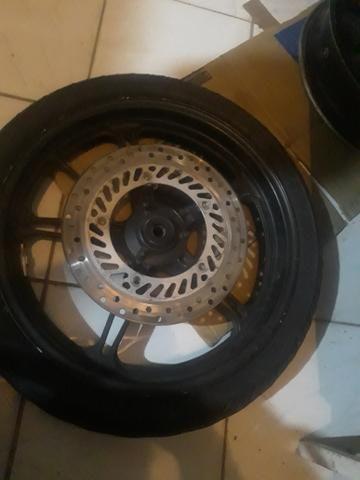 Par de rodas original cb300