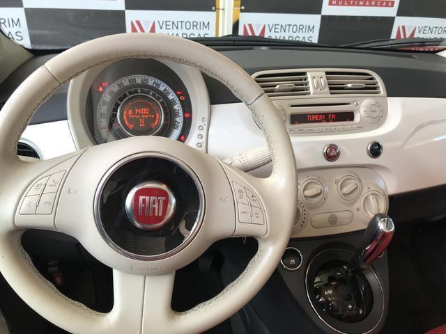Fiat 500 Cabrio 1.4 2014 Conversível - Foto 7