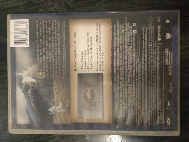 DVD O Senhor dos Anéis O Retorno do Rei - Foto 2