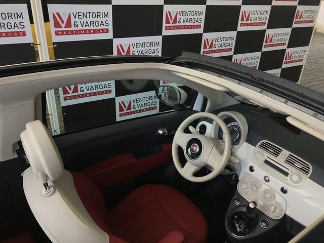 Fiat 500 Cabrio 1.4 2014 Conversível - Foto 8