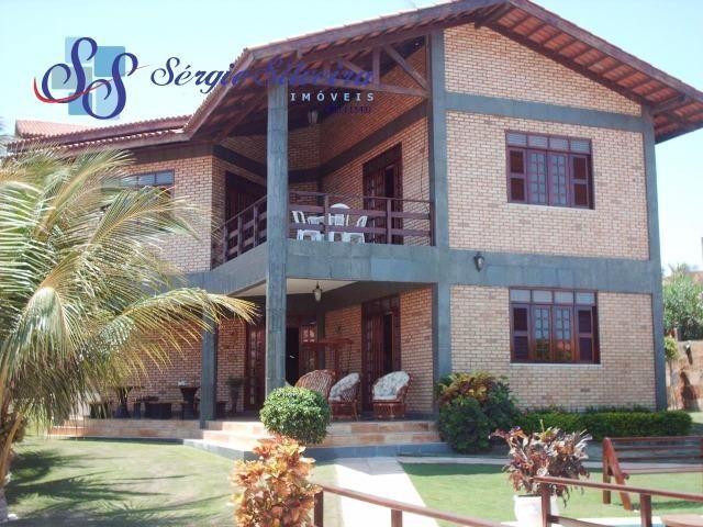 Casa para venda no Porto das Dunas com 5 suítes, piscina e deck com churrasqueira - Foto 18