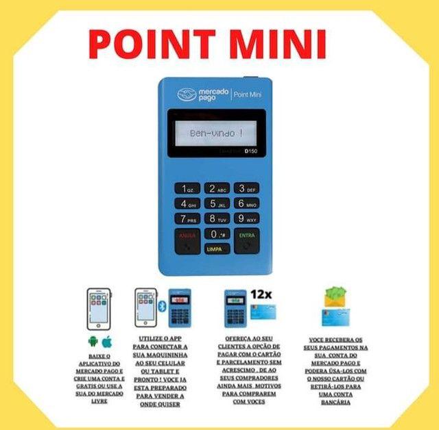 Maquininha de cartão débito e crédito mercado pago
