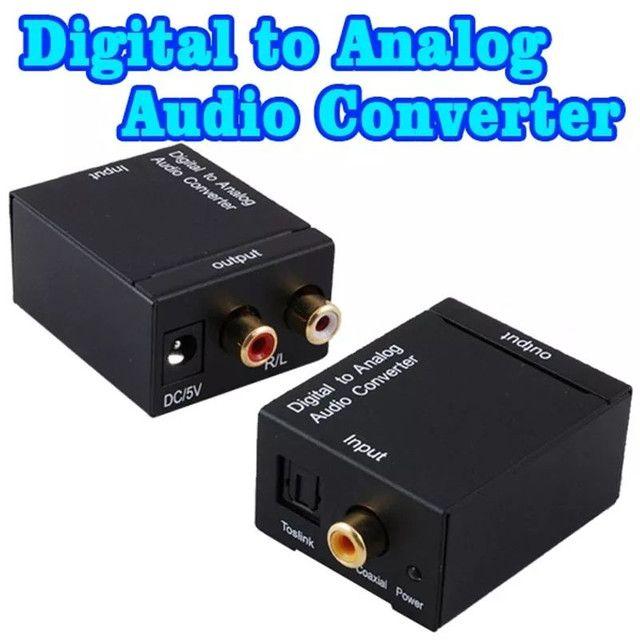 Converso de áudio, óptico para RCA - Foto 2