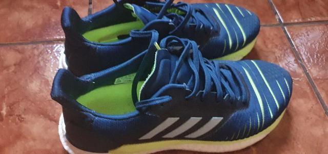 Tênis adidas running masculino solar glide n°38 original  - Foto 3