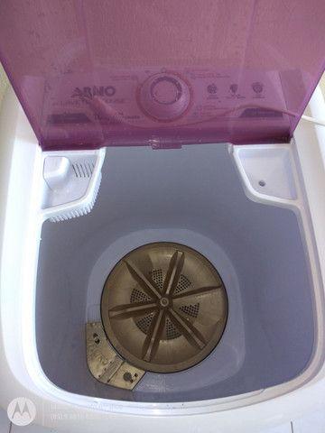 Tanquinho da Arno Máquina de Lavar Roupas Lavadora Arno Lavete 10Kg Semi-Automática - Foto 4
