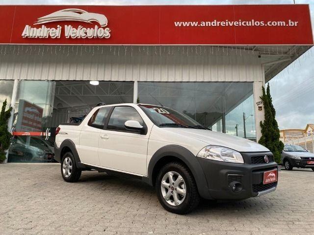 Fiat Strada 1.4 Freedom CD Três Portas (Flex) Completa Zero Km 2020 - Foto 9