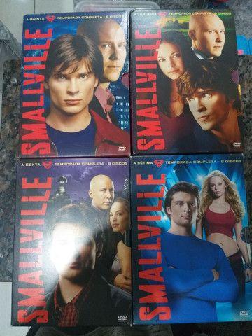 SÉRIE SMALLVILLE EM DVD ORIGINAL TEMPORADAS 2 A 10
