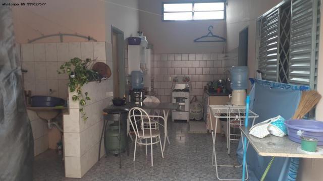 Casa para Venda em Várzea Grande, Jardim dos Estados, 3 dormitórios, 1 suíte, 2 banheiros, - Foto 3