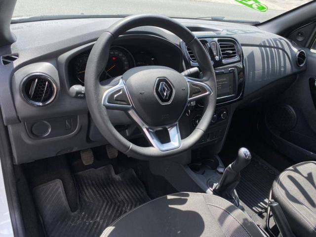 Renault Logan 2020 Completo Zen 1.6 Flex Revisado 29.000 Km Multi Mídia  - Foto 5