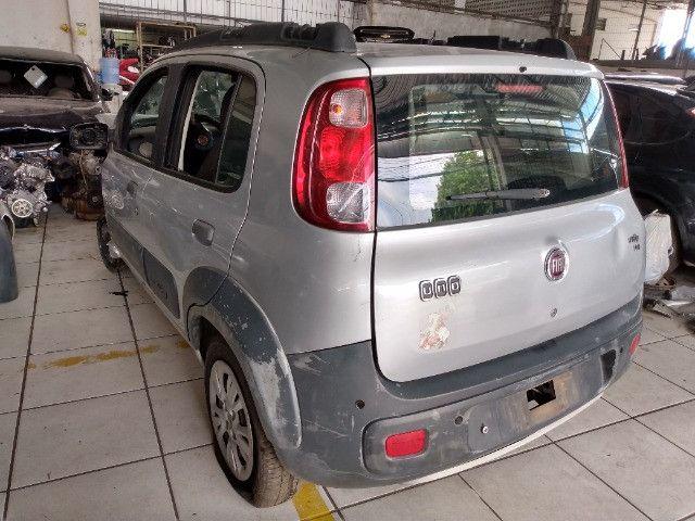 Sucata Fiat uno Vivace way 1.4 2013 - Foto 2