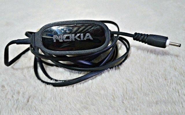 Carregador Original Nokia AC-15B Pino Fino Bivolt 110-220 V - Foto 3
