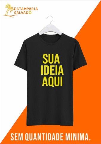 Camiseta Personalizada Unitária.  - Foto 2