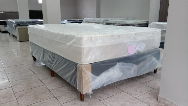 Colchão de mola ensacada Novo com garantia - Foto 3