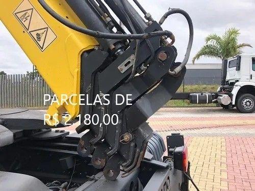 """Mercedes-Bens Axor 3344 2018 Munck Hyva Elevação 35 """"T"""" Entrada mais Parcelas com Serviço. - Foto 6"""