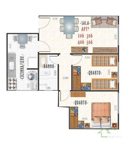 Apartamentos com 2 dormitórios à venda, a partir de R$ 219mil - Centro - Juiz de Fora/MG - Foto 2