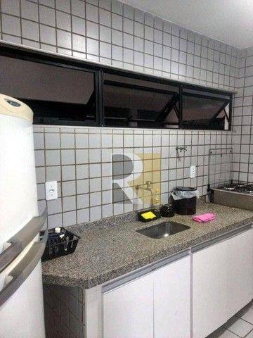 Apartamento Mobiliado com 1 dormitório para alugar, 58 m² - Manaíra - João Pessoa/PB - Foto 5