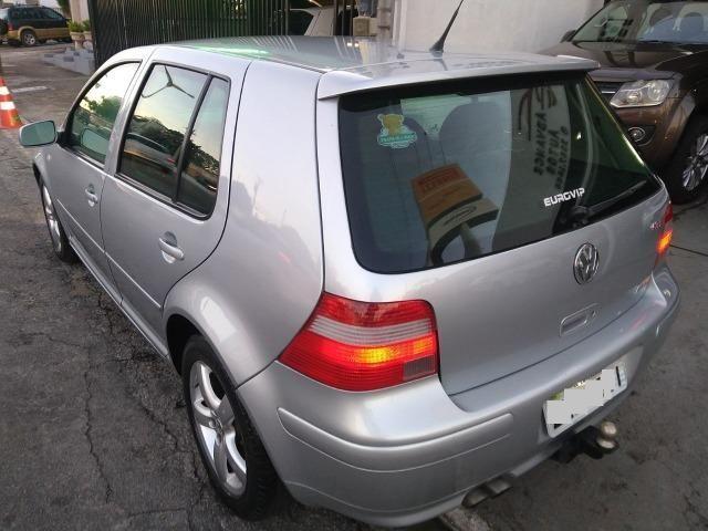 Vw - Volkswagen Golf 1.8 GTI Turbo, Blindado, Completo, 2004 - Foto 3