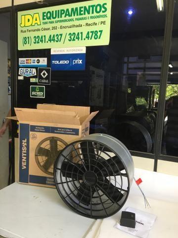 Exaustor 30 cm com chave de reversão / ideal para para deixar o ambiente sem calor - Foto 3