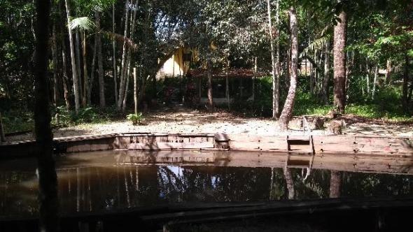 200 mil pra fechar o negocio Linda chácara no papuquara com uma casa com 3/4 ,sala,cozinha - Foto 2