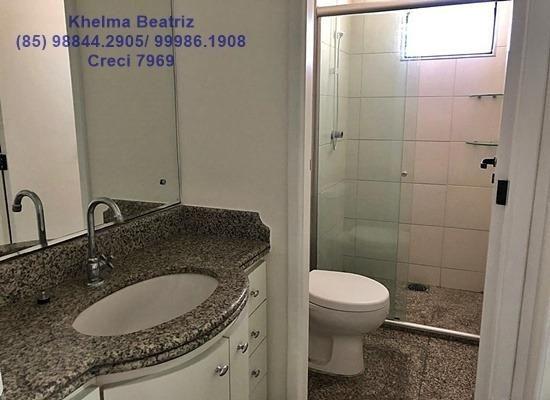 Apartamento. 72m², 2 suítes, closet, 2 vagas - Cocó - Foto 12