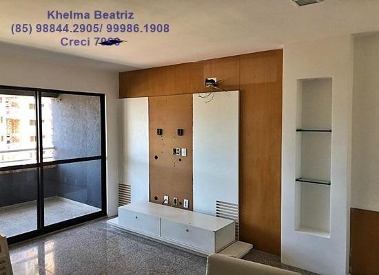 Apartamento. 72m², 2 suítes, closet, 2 vagas - Cocó - Foto 3