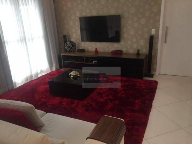 Apartamento com 3 dormitórios à venda, 156 m² por r$ 750.000,00 - jardim das indústrias -