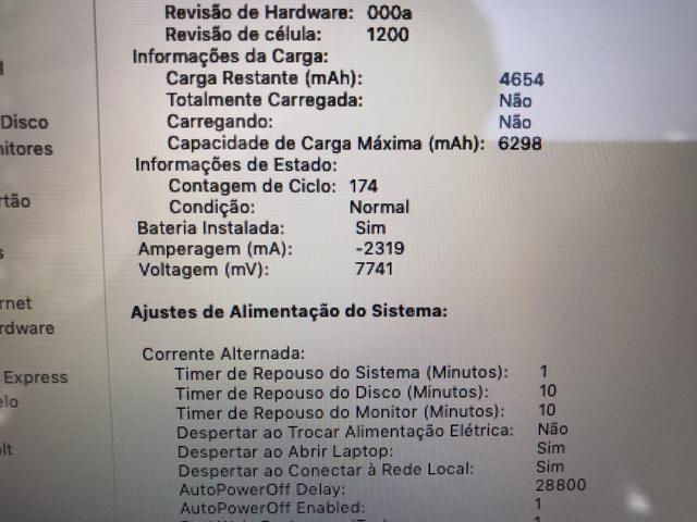 MacBook Air 2017 8GB 128SSD Novo! Apenas 174 ciclos! - Foto 6