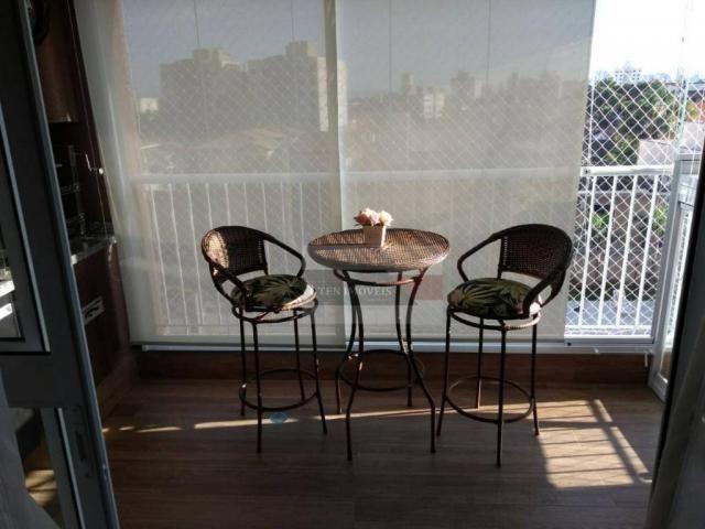 Apartamento com 2 dormitórios à venda, 75 m² por r$ 450.000 - jardim das indústrias - são  - Foto 12