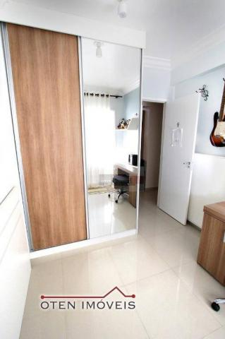 Apartamento com 4 dormitórios à venda, 156 m² por r$ 750.000 - jardim das indústrias - são - Foto 10