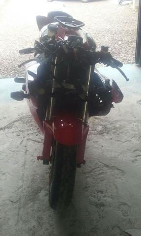 Moto Para Retirada De Peças/Sucata CBR 1000 RR Vermelha Ano 2006 - Foto 5