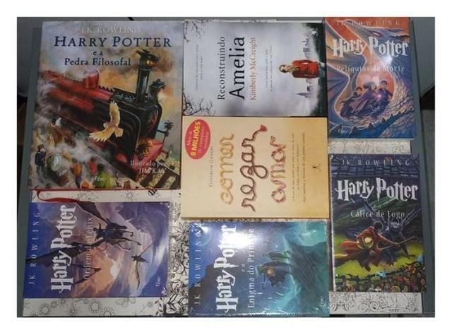 Livros: Harry Potter e outros
