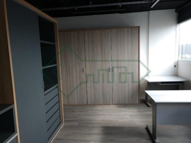 Sala comercial mobiliada   ed. helbor offices joinville - Foto 16