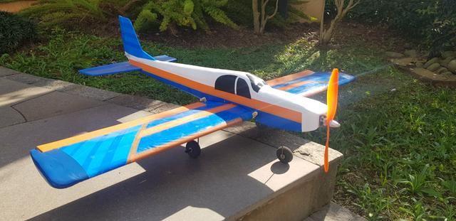 Aeromodelo Scout Asa Baixa completo