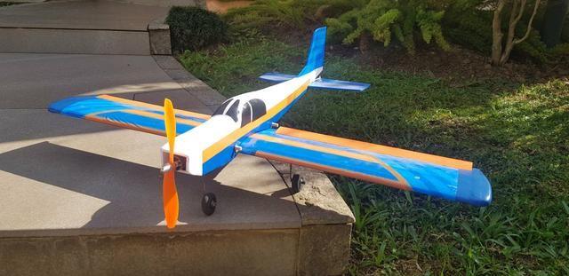 Aeromodelo Scout Asa Baixa completo - Foto 3