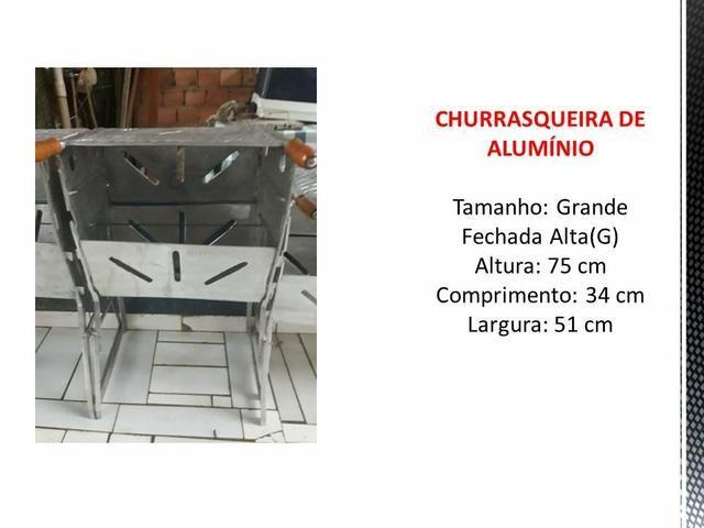 Churrasqueira de alumínio - Foto 4