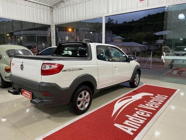 Fiat Strada 1.4 Freedom CD Três Portas (Flex) Completa Zero Km 2020 - Foto 7