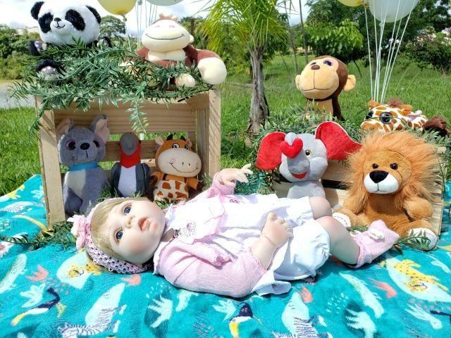 Bebê Reborn - Acessórios Exclusivos! - Foto 3