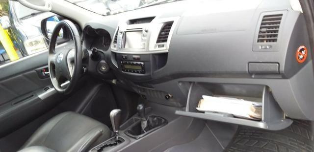 Hilux srv 4x4 tdi diesel cd automatico - Foto 9