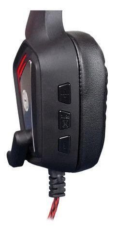 Headset Gamer Hoopson Mage Mk31r Usb 7.1 Pc - Loja Natan Abreu - Foto 3