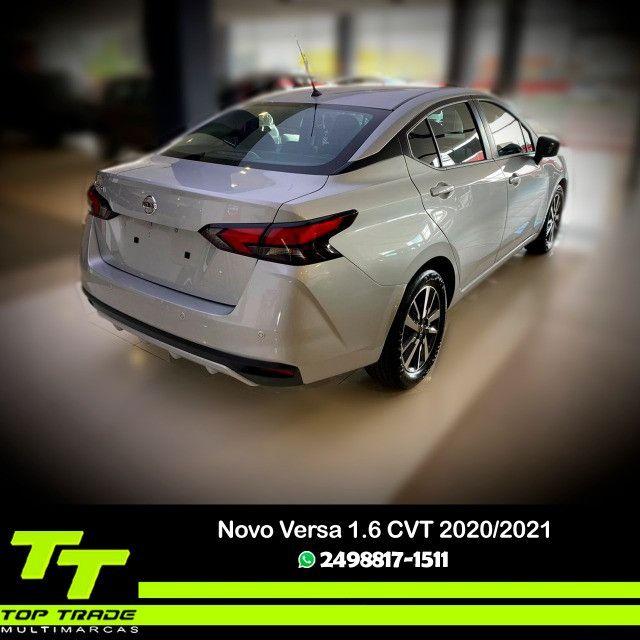 Novo Nissan Versa Advance 1.6 CVT 2021 0km - Foto 2