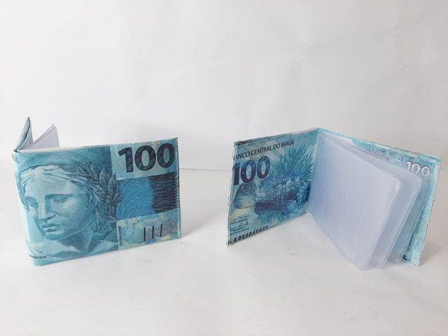 Carteiras cédula de dinheiro valor r$7,99