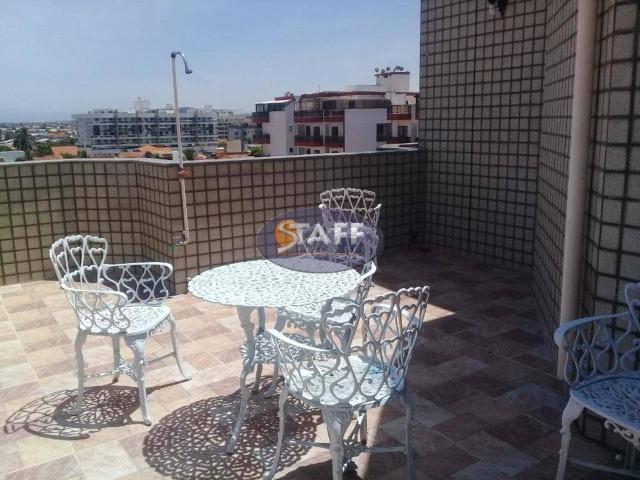 AZ-Cobertura Duplex com 03 quartos para alugar, 130 M² -Braga-Cabo Frio/RJ(CO0155) - Foto 12