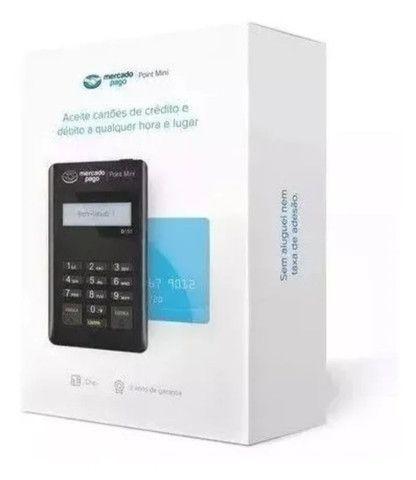 Maquininha de cartão débito e crédito mercado pago - Foto 3
