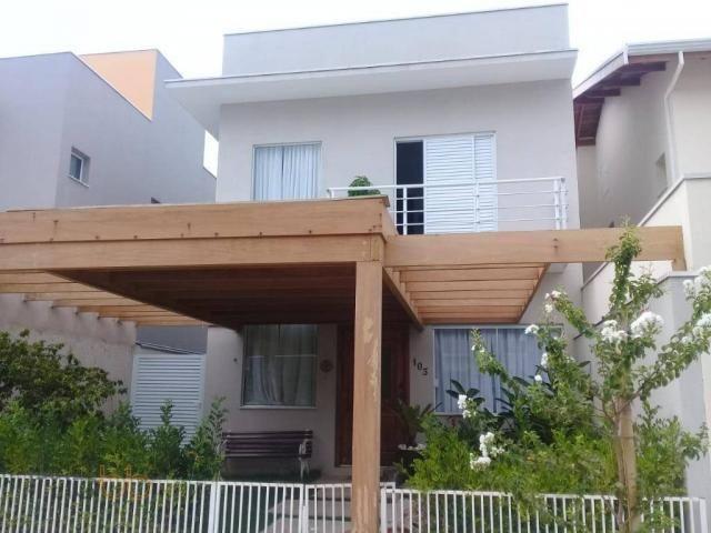 Casa com 4 dormitórios à venda, 183 m² por R$ 800.000 - Jardim Park Real - Indaiatuba/SP