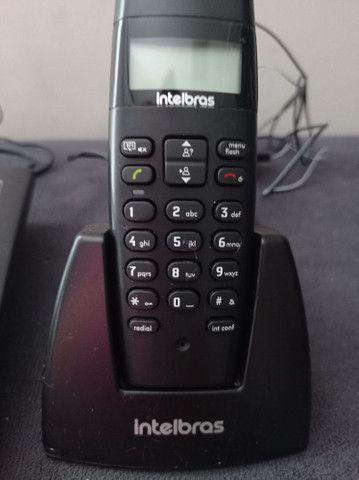 Vendo 3 telefones com identificador de chamadas - Foto 3