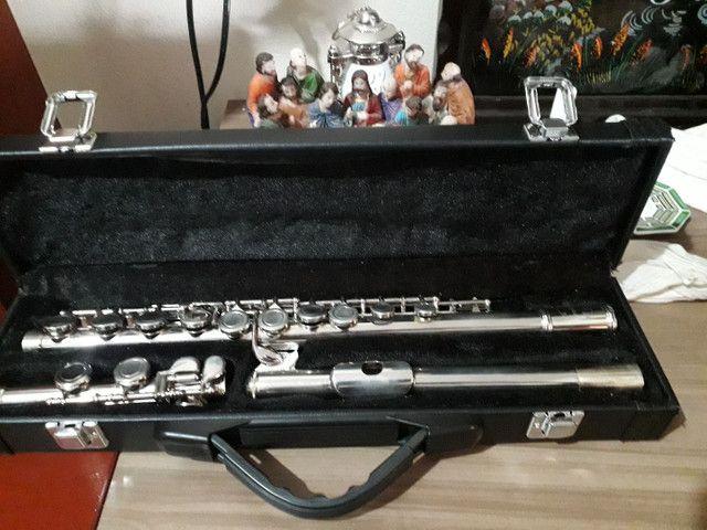 Vendo flauta transversal nova Strauss