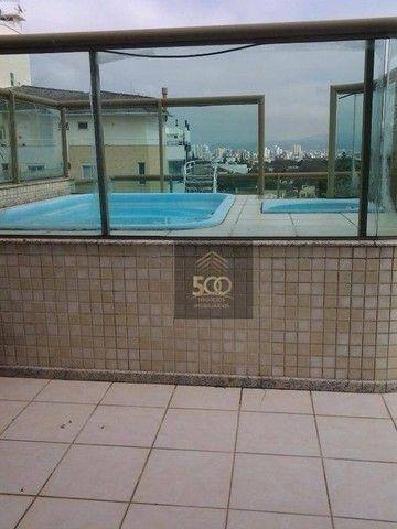 Cobertura com 4 dormitórios à venda, 225 m² por R$ 1.200.000,00 - Balneário - Florianópoli - Foto 15