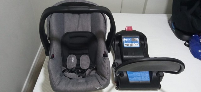 Bebê Conforto Infantil Narni (com Base Isofix) Preto