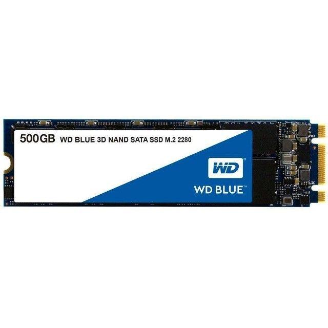SSD M2 WD blue sata 500gb seminovo