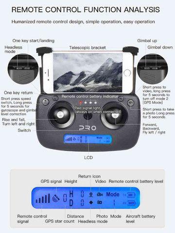 Drone Sg906 Pro 2 Camera 4k Gimbal 3 Eixos Lançamento 100% original - Foto 3